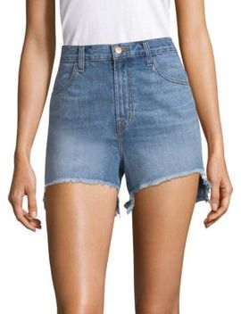 Joan High Rise Denim Shorts by J Brand