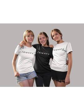 Amigos Programa De Televisión De T Shirt, Camisa De Amigos Sudadera O Camiseta Para Hombre, Mujeres Camiseta, Manga Larga, Sudadera Cuello Redondo, Regalo Para El Amigo by Etsy