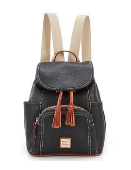 Dooney & Bourke Pebble Collection Medium Murphy Backpack by Dooney & Bourke