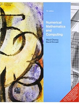 Numerical Mathematics And Computing by Amazon