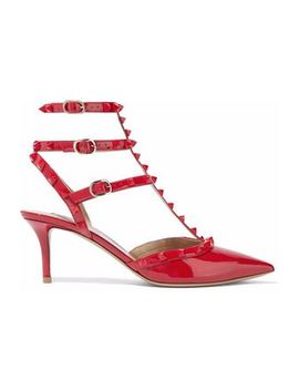 The Rockstud Patent Leather Pumps by Valentino