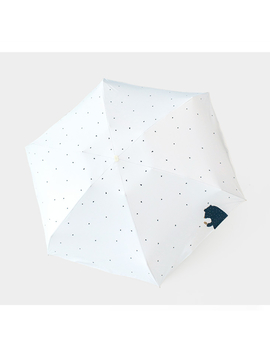 Kocotree Cartoon Bear Umbrella Compact Pocket Mini Umbrella Women 5 Folding Black Coating Anti Uv Sunny Umbrella For Travel by Windrunner Household