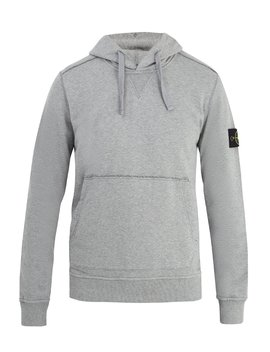 Classic Hooded Cotton Sweatshirt by Stone Island