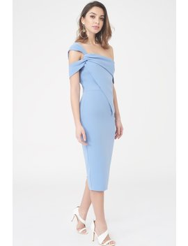 Twisted Asymmetric Dress by Lavish Alice