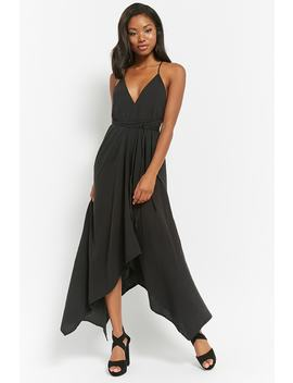 Cami Halter Maxi Dress by Forever 21