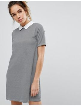 Pull&Bear Dog Tooth Dress by Pull&Bear
