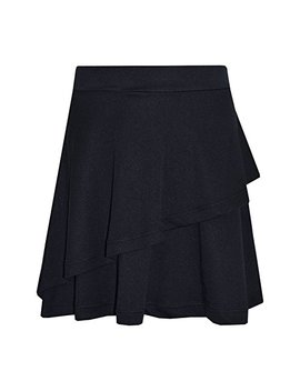 Girls Skirt Kids Plain Color Dance Double Layer Party Fashion Skirts 5 13 Year by A2 Z 4 Kids®