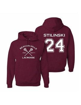 Teen Wolf Hoodie, Stiles Stilinski 24, Beacon Hills Lacrosse Sweatshirt, Gift For Teens by Etsy