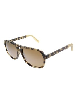 Maui Jim Aviator Maui H77 Little Maks 10 Ml Unisex Matte Tortoise Frame Brown Lens Sunglasses by Maui Jim