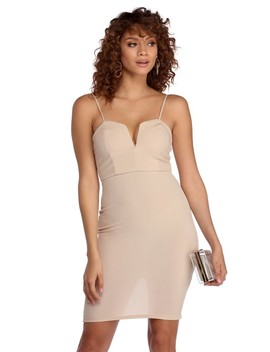 Natural Sweet Thing Bodycon by Windsor
