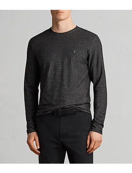 Suburb Long Sleeve Crew T Shirt by Allsaints