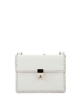 Rockstud Flap Leather Crossbody Bag by Valentino Garavani