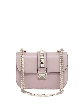 Small Rockstud Flap Lock Chain Shoulder Bag by Valentino Garavani