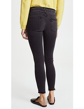 Le Skinny De Jeanne Crop Jeans With Released Hem by Frame