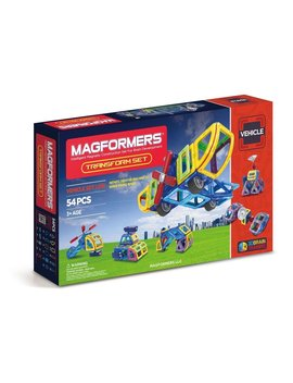 Magformers Vehicle Transform Set (54 Pieces) by Magformers
