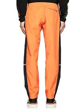 Embroidered Striped Track Pants by Heron Preston