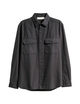 Twill Utility Shirt by H&M