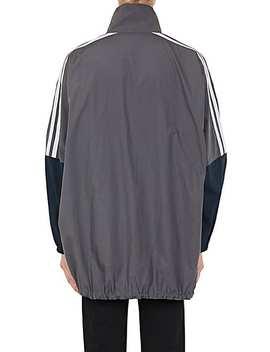 Colorblocked Cotton Oversized Track Jacket by Balenciaga