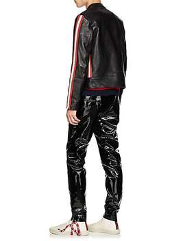 Leather Moto Jacket by Gucci