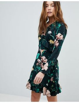 Only Floral Wrap Dress by Only