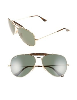 'outdoorsman Ii' 62mm Sunglasses by Ray Ban