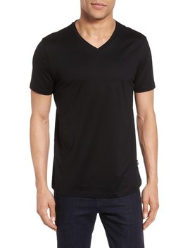 V Neck T Shirt by Boss
