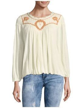 The Amy Embroidered Top by Free People