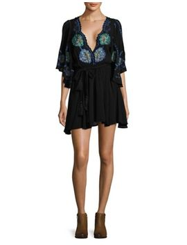 Rock With It Embroidered Top by Free People