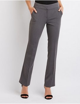 Tailored Trousers by Charlotte Russe