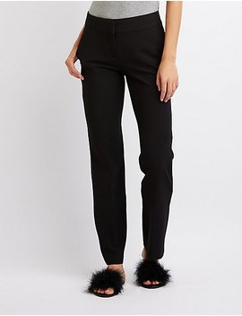 Straight Leg Trousers by Charlotte Russe