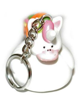 Cute Rubber Unicorn Duck Key Chain (Kc003) by Ebay Seller