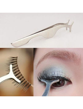 New Beauty False Eyelashes Extension Applicator Remover Clip Tweezer Nipper Tool by Yanqueens