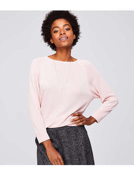 sueded-sweatshirt by loft