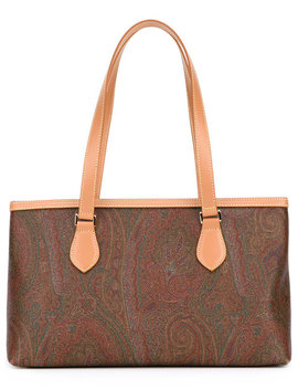 Printed Shopper Tote by Etro