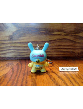 Andy Warhol Dunny Keychains Kid Robot Cambell's Soup Blue 3/24 by Ebay Seller