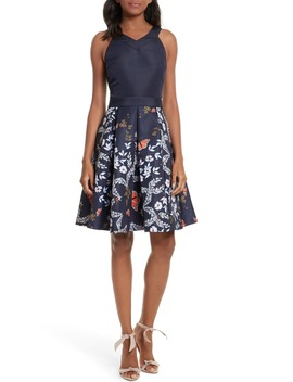 Bethah Kyoto Fit & Flare Dress by Ted Baker London