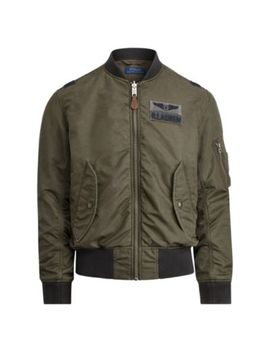 Twill Bomber Jacket by Ralph Lauren