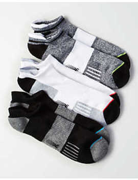 Aeo Monochrome Performance Socks 3 Pack by American Eagle Outfitters