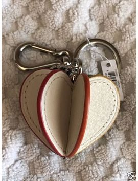 Coach 3 D Rainbow Heart Keychain Key Ring Fob Charm by Ebay Seller