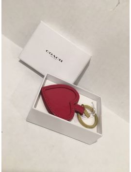 Brand New Coach F67976 Heart Mirror Key Ring by Coach