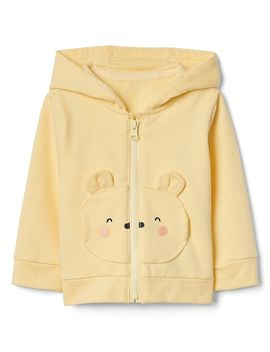 Bear Hoodie In French Terry by Gap