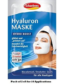Schaebens Hyaluron Mask (5 X 2 X 5 Ml For 10 Applications) by Schaebens