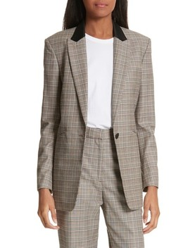 Ridley Glen Plaid Wool & Cotton Blazer by Rag & Bone