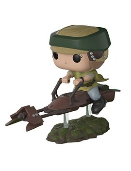 Funko Pop Deluxe: Leia On Speeder Bike Collectible Vinyl Figure (Styles May Vary) by Fun Ko