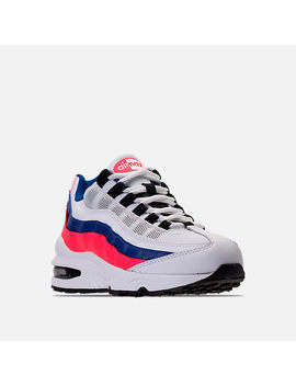 Boys' Grade School Nike Air Max 95 Casual Shoes by Nike