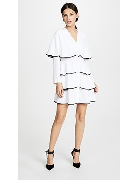 Ruffle Mini Dress by Philosophy Di Lorenzo Serafini