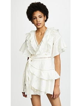 Basque Ruffle Dress by Acler