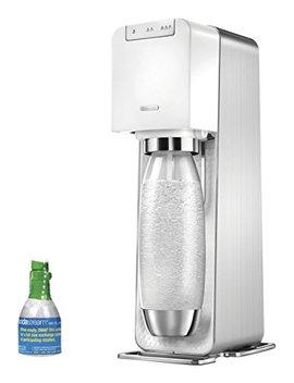Soda Stream Power Metal Sparkling Water Maker Starter Kit, White by Soda Stream