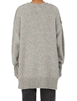 Oversized Crewneck Sweater by R13