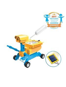 Tenergy Odev Geo Stem Toy Diy 2 In 1 Salt Water/Solar Powered Robot Car Kit For Kids Age 8+ by Tenergy